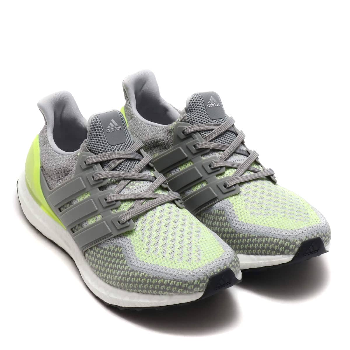 adidas UltraBOOST CH SOLID GREY/CH SOLID GREY/SOLAR YELLOW 19SS-I_photo_large