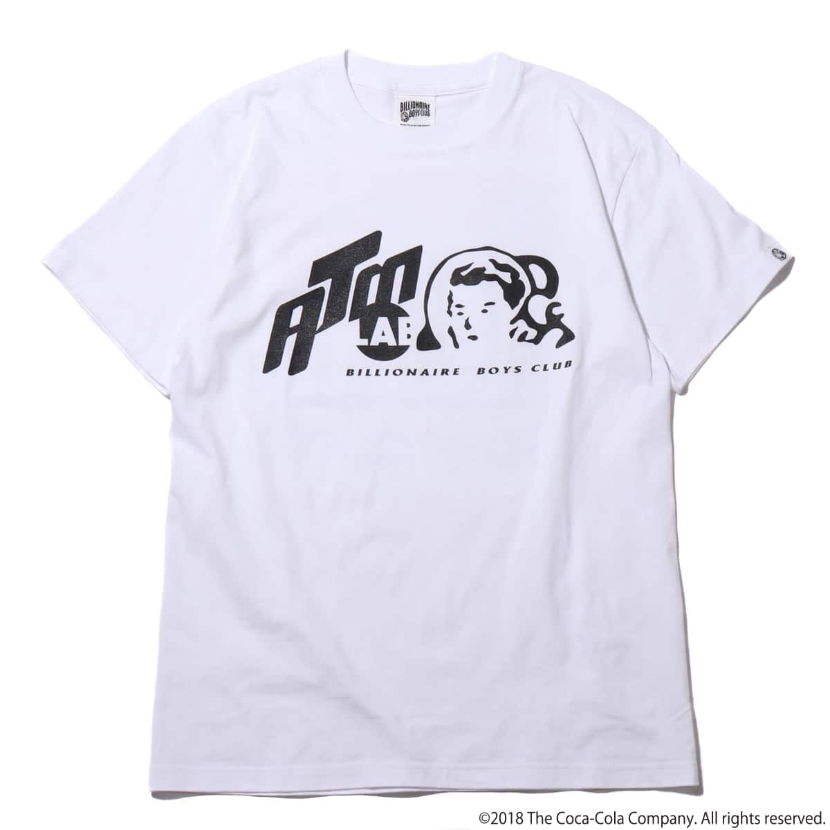 Coca-Cola by Billionaire Boys Club x ATMOS LAB IT'S HOT TEE  WHITE_photo_large