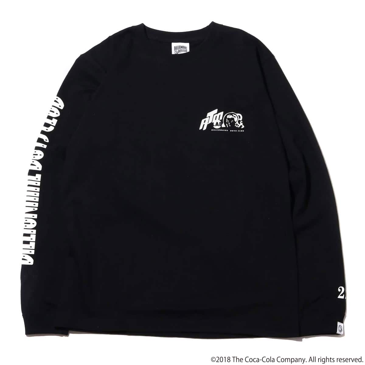 Coca-Cola by Billionaire Boys Club x ATMOS LAB BP COLA LS TEE  BLACK_photo_large