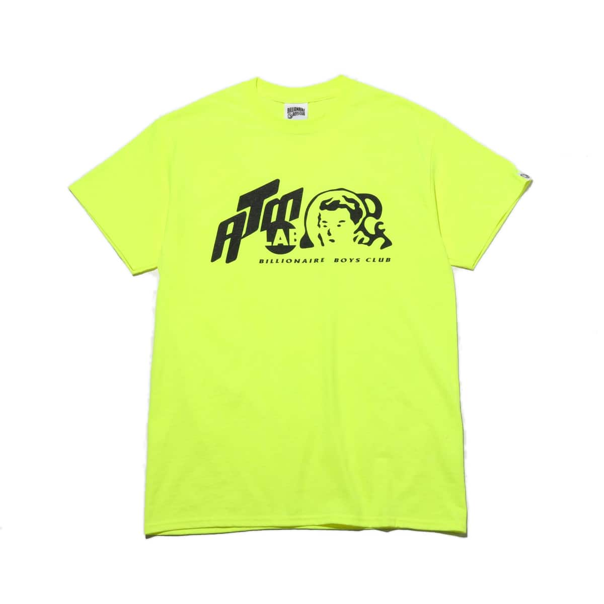 BILLIONAIRE BOYS CLUB x ATMOS LAB T-SHIRTS_ATMOS CON  SAFETY GREEN_photo_large