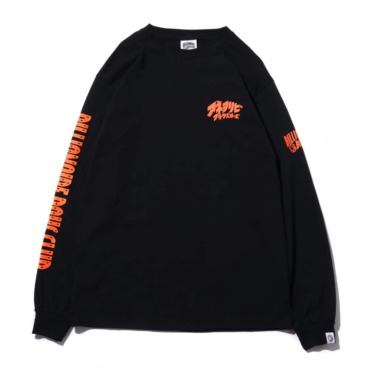 BILLIONAIRE BOYS CLUB アネオリビブラクイーボ L/S TEE  BLACK 18FA-S_photo_large
