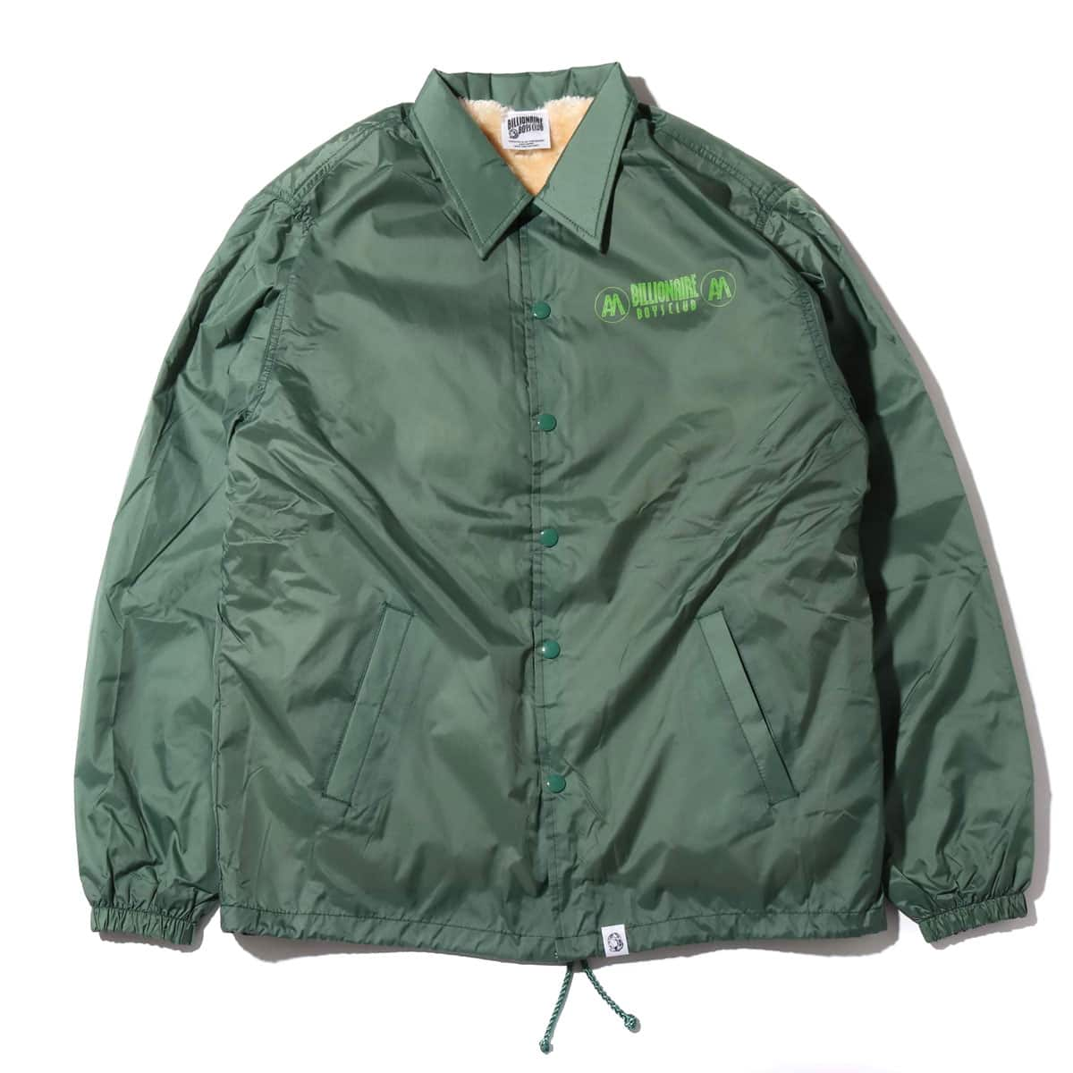BILLIONAIRE BOYS CLUB x AH MURDERZ BOA COACH JACKET  GREEN 18FA-S_photo_large