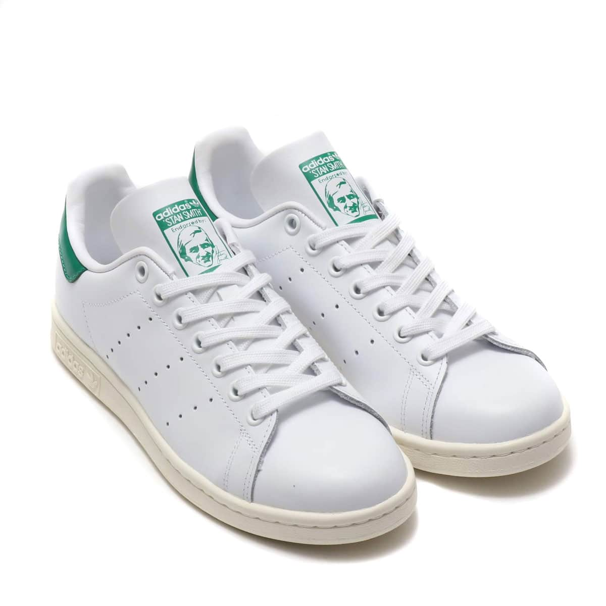 adidas Originals STAN SMITH RUNNING WHITE/OFF WHITE/BOLD GREEN 19SS-I_photo_large