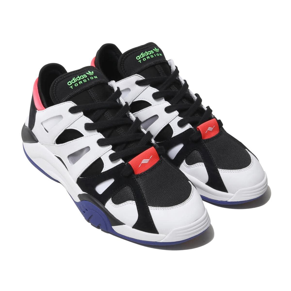 Adidas-dimensión lo Core Black//Footwear White//Active Blue cortos bd7648