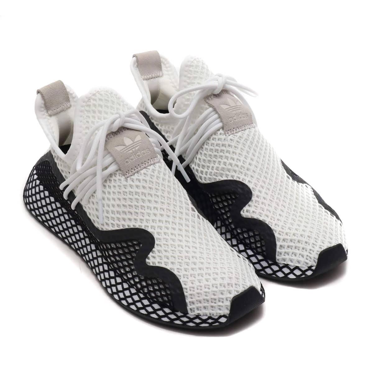 adidas Originals DEERUPT NEW RUNNER RUNNING WHITE/CORE BLACK/RUNNING WHITE 19SS-I_photo_large