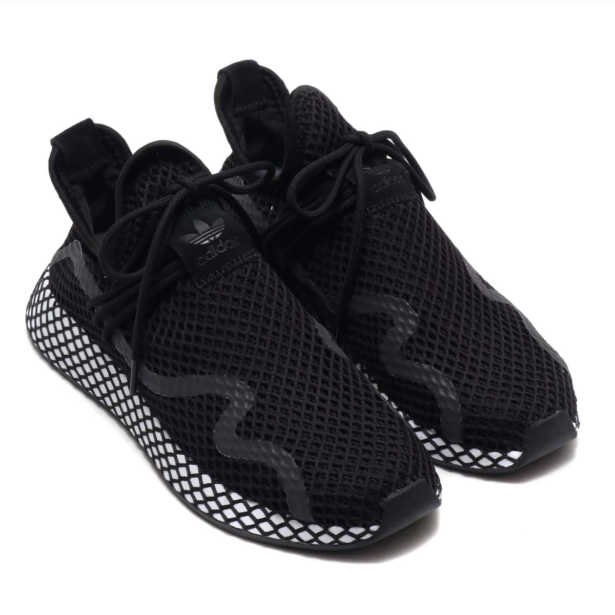 adidas Originals DEERUPT NEW RUNNER CORE BLACK/CORE BLACK/RUNNING WHITE 19SS-I_photo_large