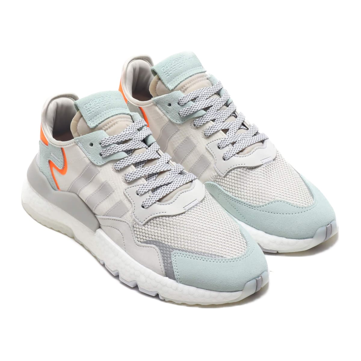 adidas Originals NITE JOGGER RAW WHITE/GREY ONE F17/VAPOUR GREEN 19SS-I_photo_large