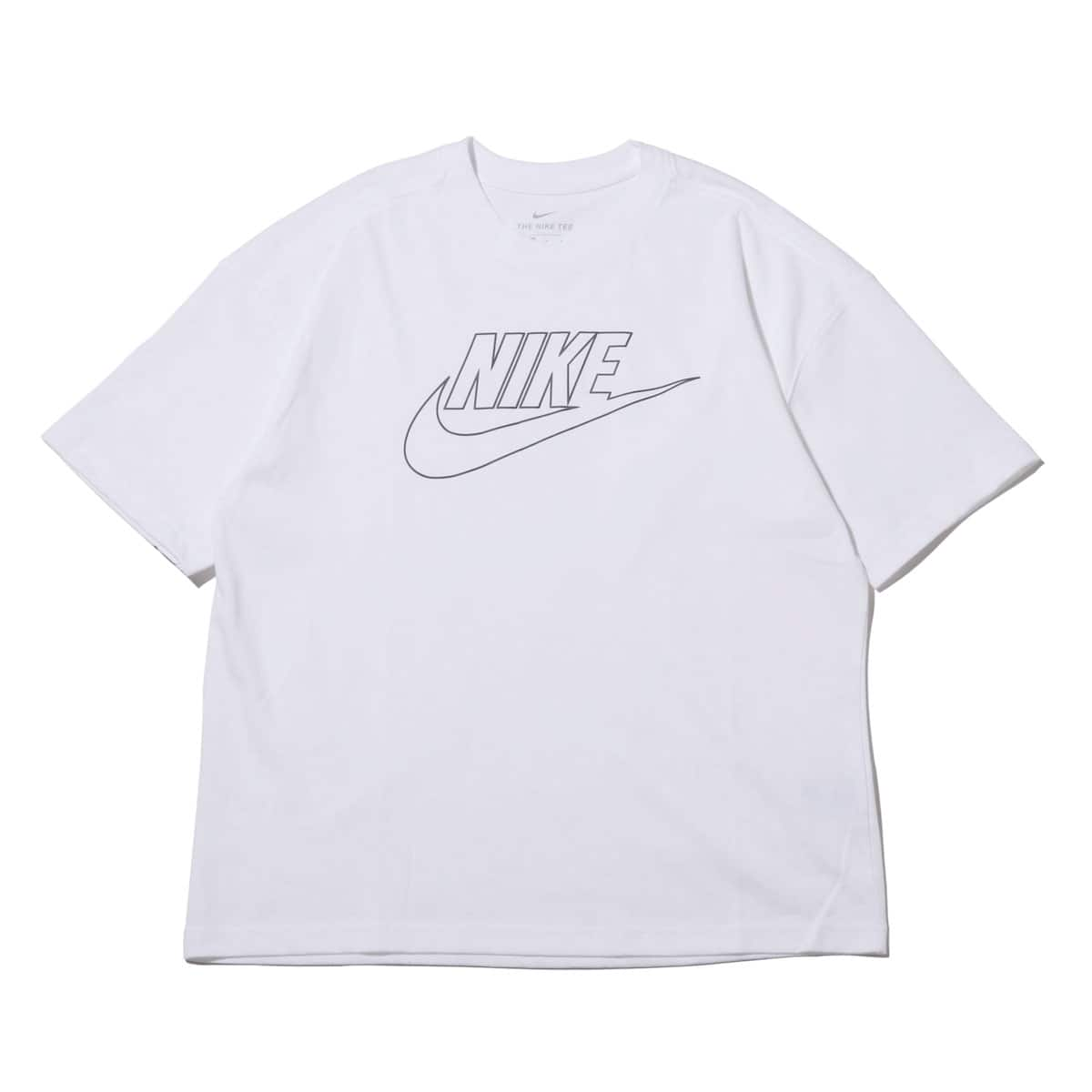 NIKE AS M NSW TEE ICON FUTURA OVRSZ WHITE/DARK GREY 19SU-I_photo_large