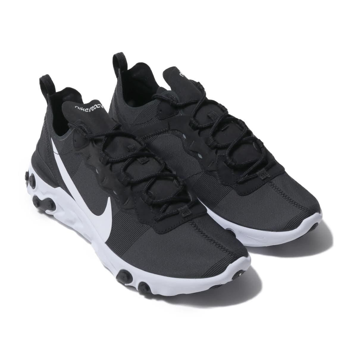NIKE REACT ELEMENT 55 BLACK/WHITE 19SU-I_photo_large
