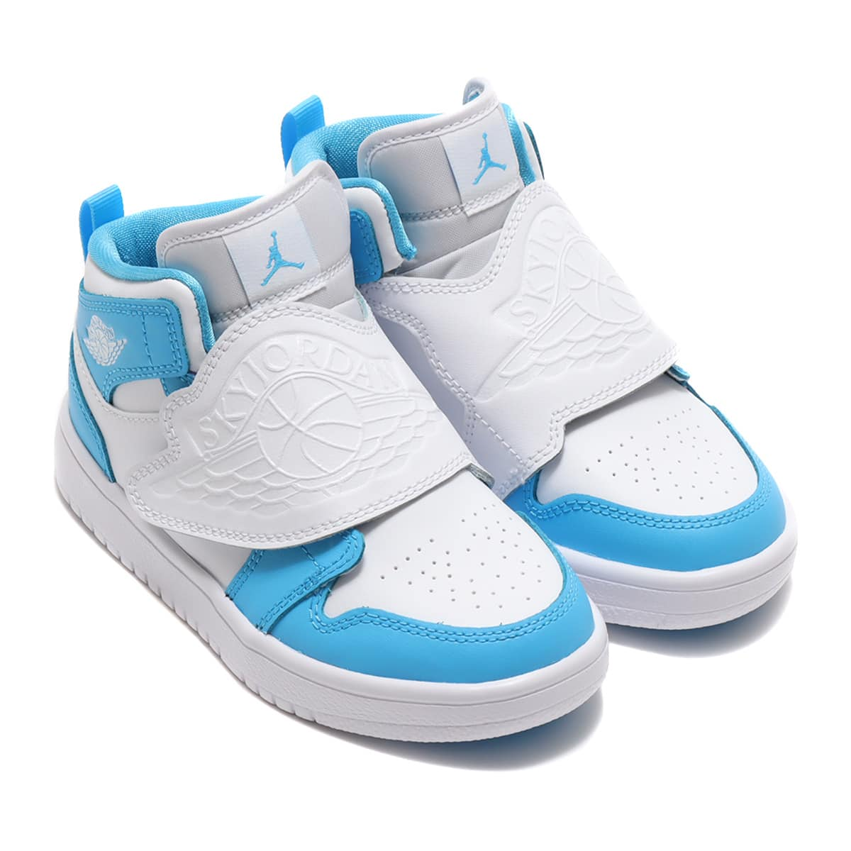 JORDAN BRAND SKY JORDAN 1 (PS) WHITE/DK POWDER BLUE 20FA-I_photo_large