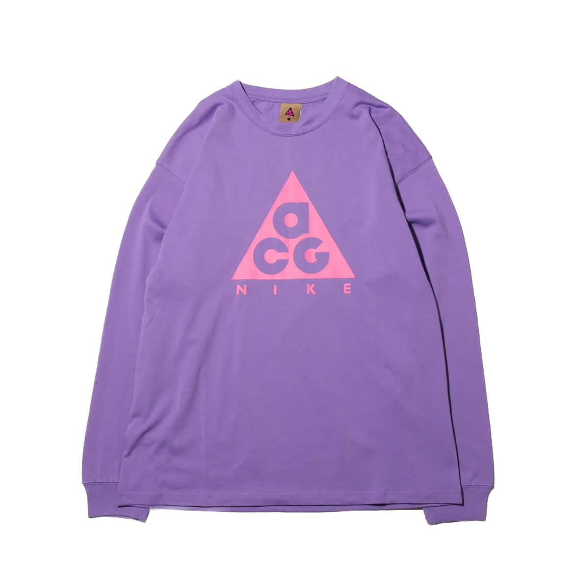 save off 64731 d1fe5 NIKE AS M NRG ACG LS TEE LOGO SPACE PURPLE LOTUS PINK 19SU-S