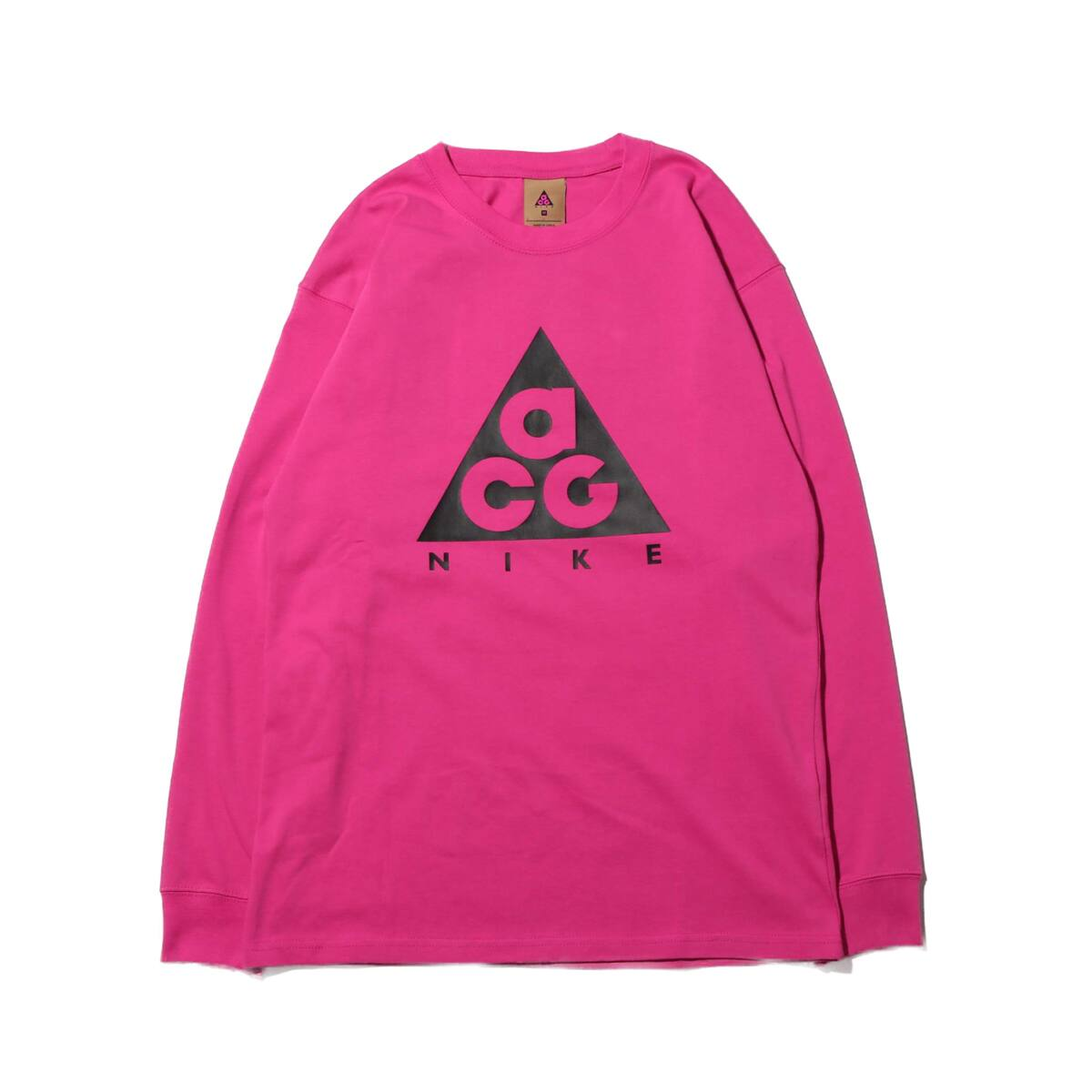 NIKE AS M NRG ACG LS TEE LOGO ACTIVE FUCHSIA/BLACK 20SP-S_photo_large