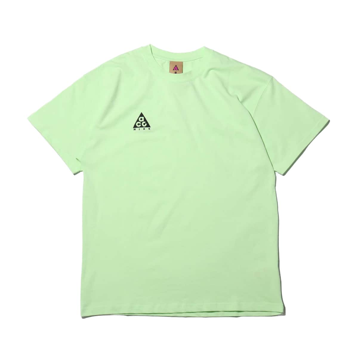 NIKE AS M NRG ACG SS TEE LOGO BARELY VOLT/BLACK 19SU-S_photo_large