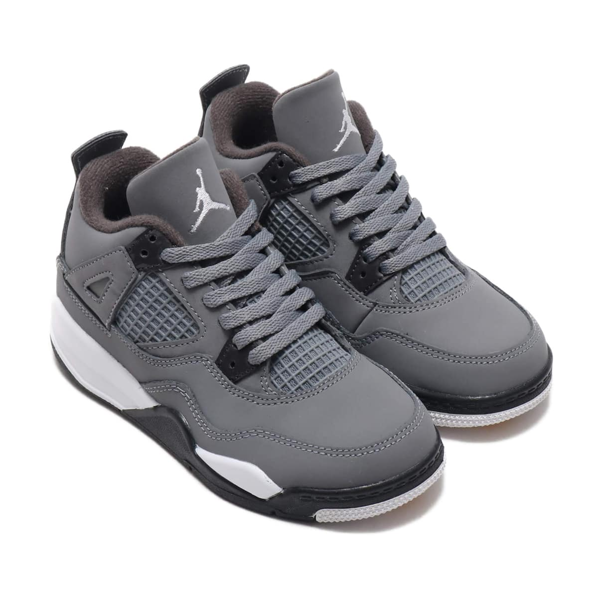 NIKE JORDAN 4 RETRO PS COOL GREY/CHROME-DARK CHARCOAL 19FA-S_photo_large