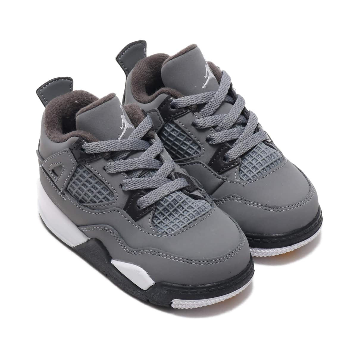 JORDAN BRAND JORDAN 4 RETRO TD COOL GREY/CHROME-DARK CHARCOAL 19FA-S_photo_large
