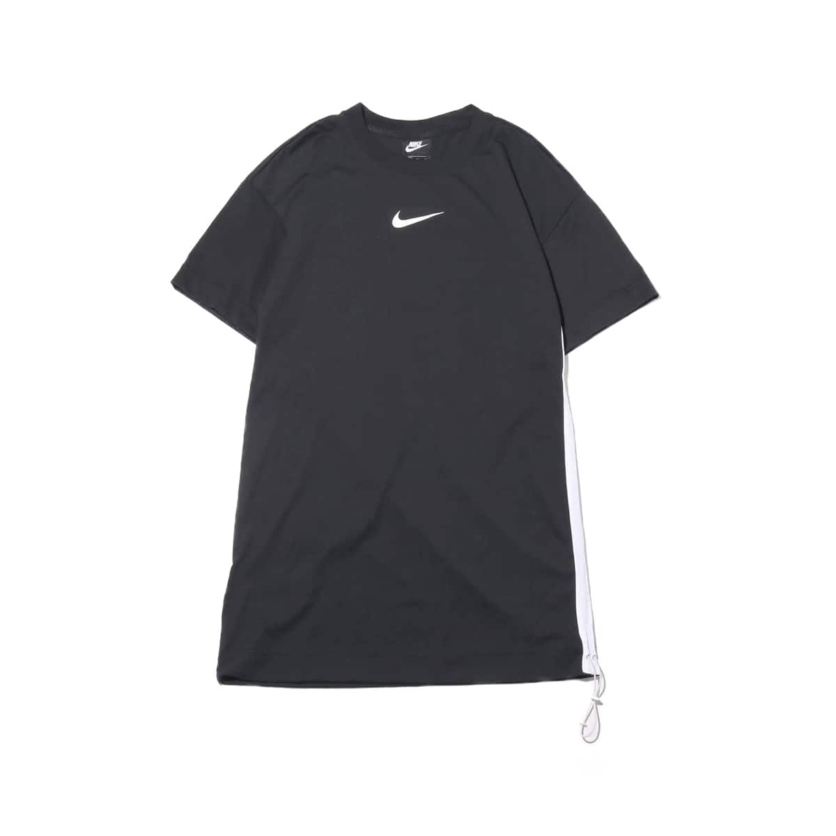 NIKE AS W NSW SWSH DRESS BLACK/WHITE 19SU-I_photo_large