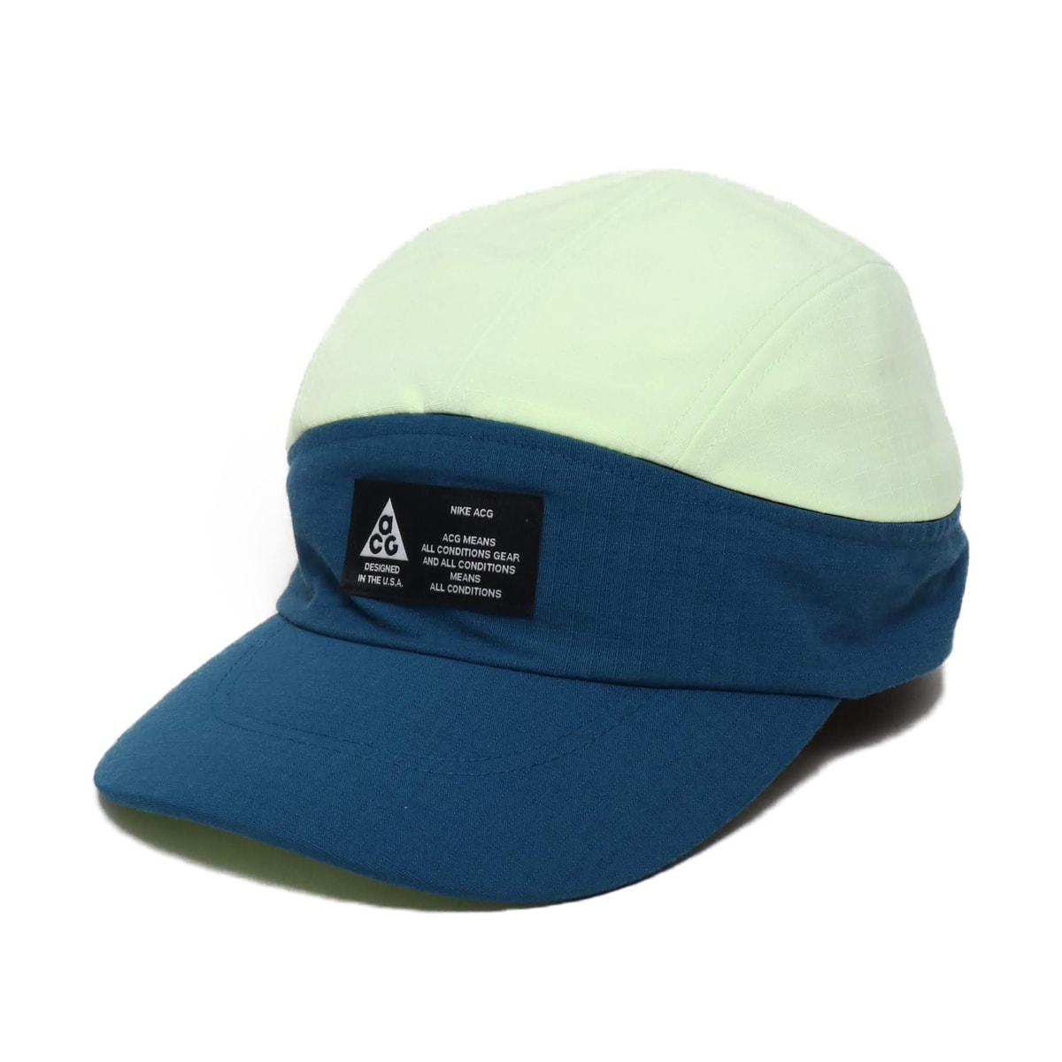 NIKE U NRG TLWD VISOR CAP ACG BLUE FORCE/BARELY VOLT 19SU-S_photo_large