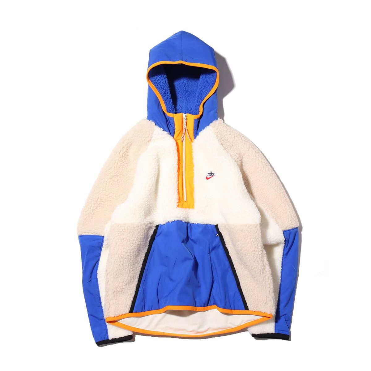 NIKE AS M NSW HE HOODIE HZ WINTER SAIL/GAME ROYAL/DESERT SAND 19HO-S_photo_large