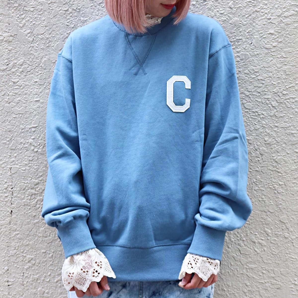 COVERNAT C LOGO CREWNECK BLUE 20SP-I_photo_large