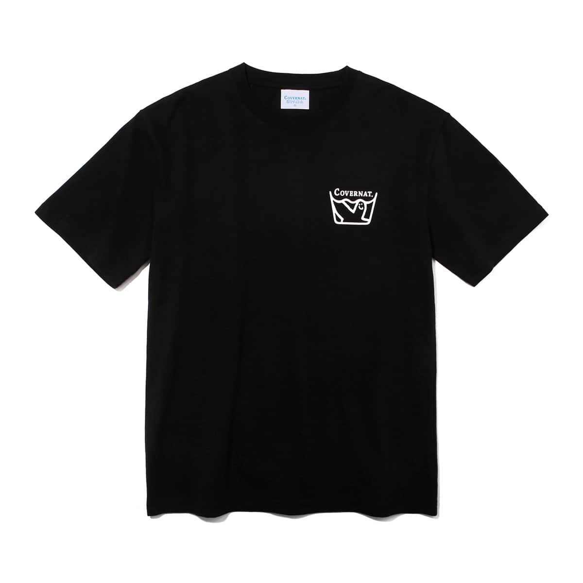 COVERNAT x MARKGONZALES LAUNDRY TEE BLACK 20SP-I_photo_large