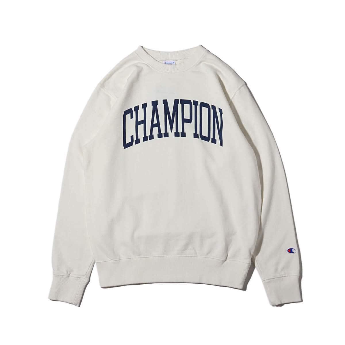 Champion CREW NECK SWEATSHIRT オフホワイト 18FW-I_photo_large