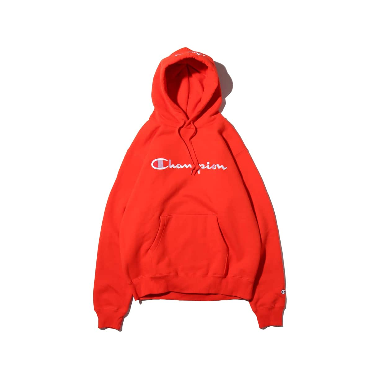 Champion × ATMOS LAB P/O HOODED SWEATSHIRT オレンジ 18FW-I_photo_large