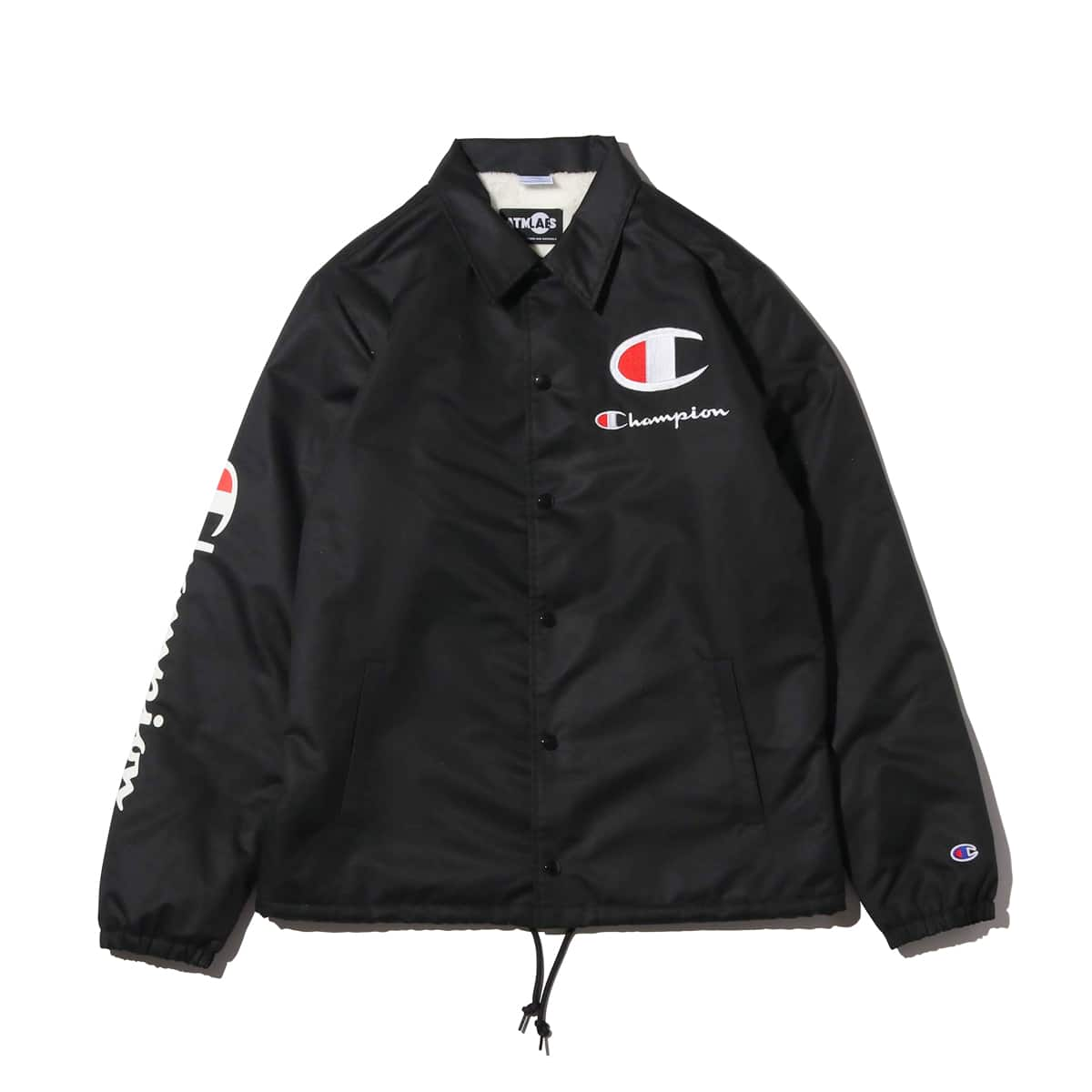 Champion × ATMOS LAB BOA COACH JACKET ブラック 18FW-I_photo_large