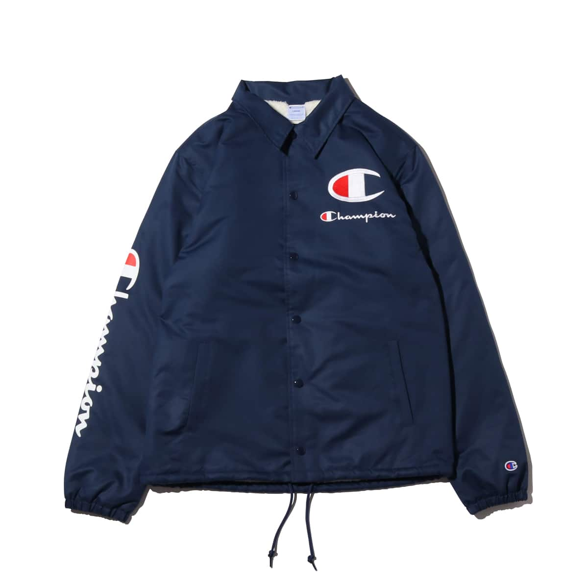 Champion × ATMOS LAB BOA COACH JACKET ネイビー 18FW-I_photo_large