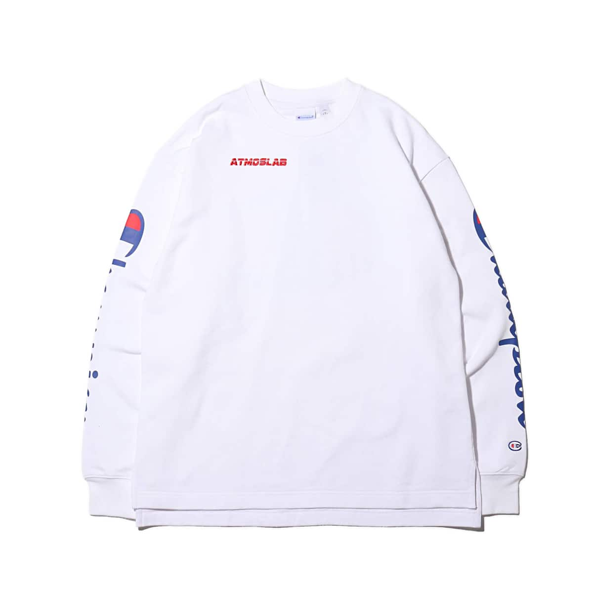 Champion × ATMOS LAB CREW NECK SWEATSHIRT  ホワイト 19SP-S_photo_large