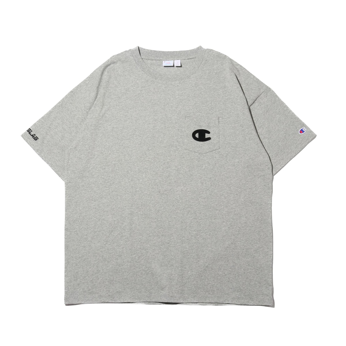 Champion × ATMOS LAB S/S POCKET T-SHIRT  オックスフォードグレー 19SP-S_photo_large