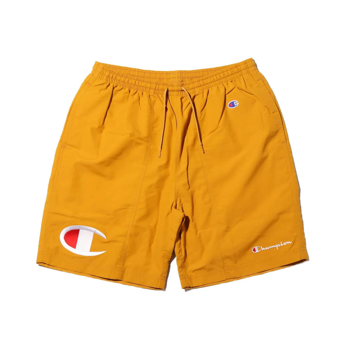 Champion × ATMOS LAB SHORT PANT  キャメル 19SP-S_photo_large