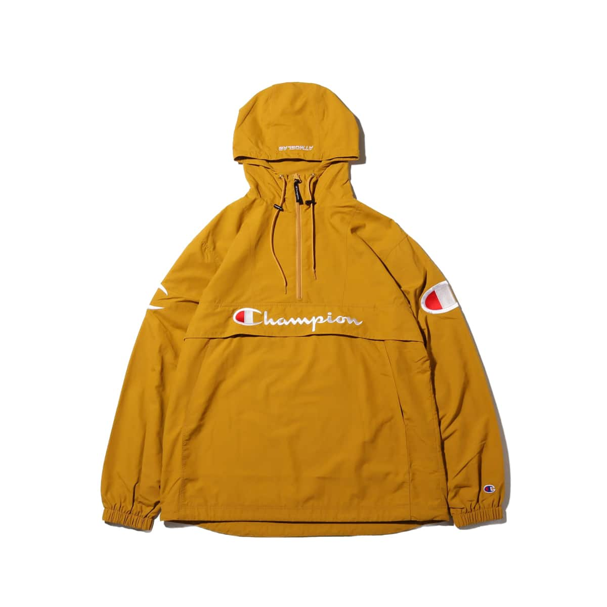 Champion × ATMOS LAB ANORAK  キャメル 19SP-S_photo_large