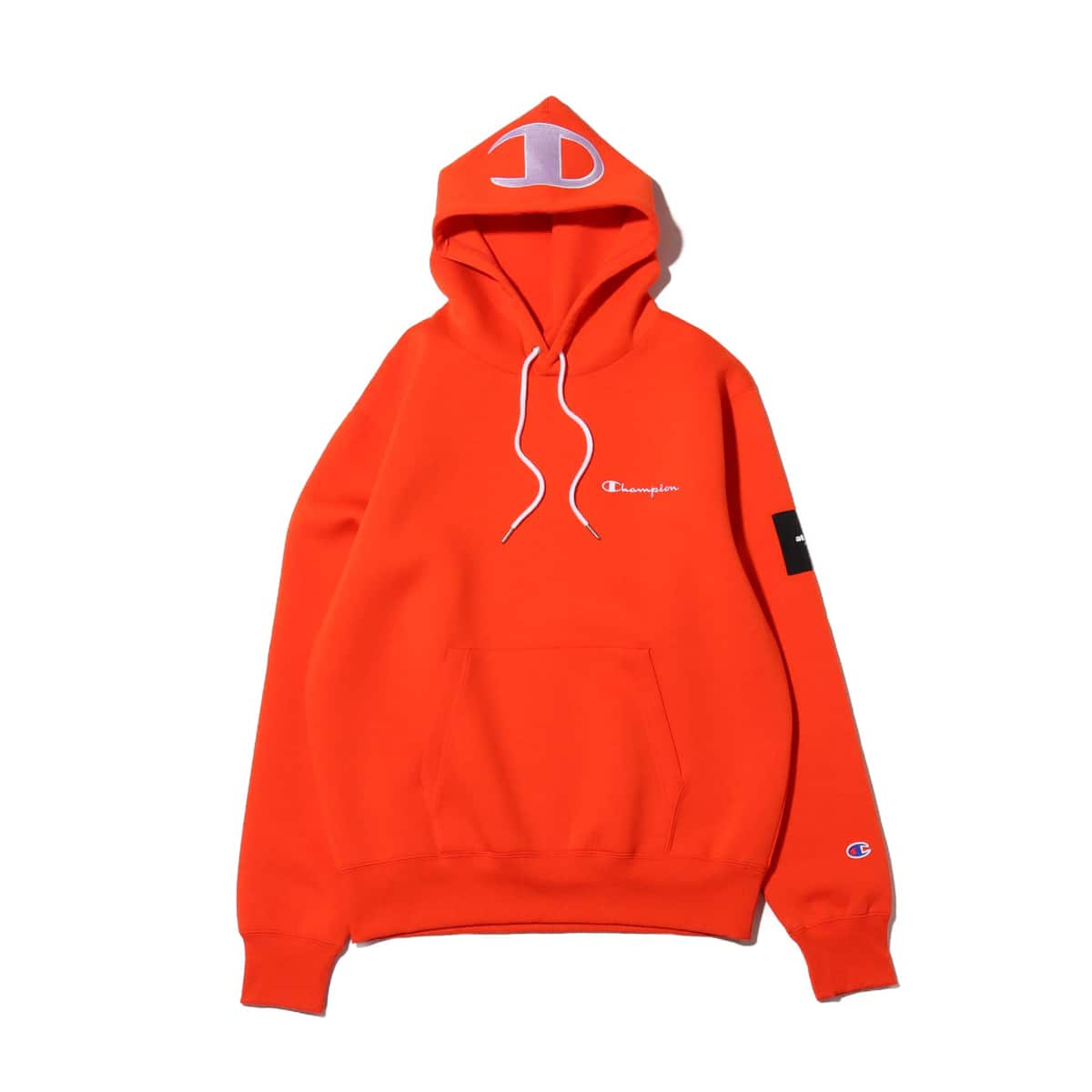 Champion x ATMOS LAB WRAP AIR PULLOVER HOODED SWEATSHIRT オレンジ 19FW-S_photo_large