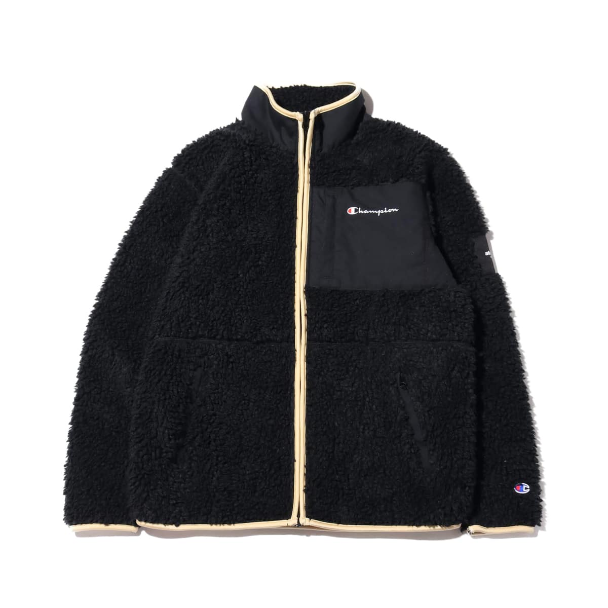 Champion x ATMOS LAB BOA JACKET ブラック 19FA-S_photo_large