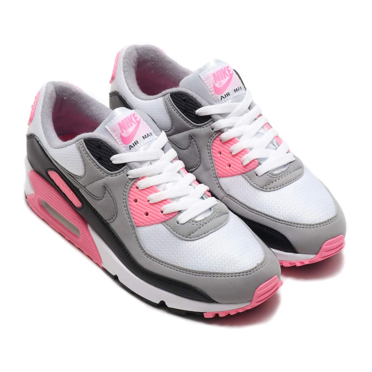 NIKE AIR MAX 90 WHITE/PARTICLE GREY-ROSE-BLACK 20SP-S_photo_large