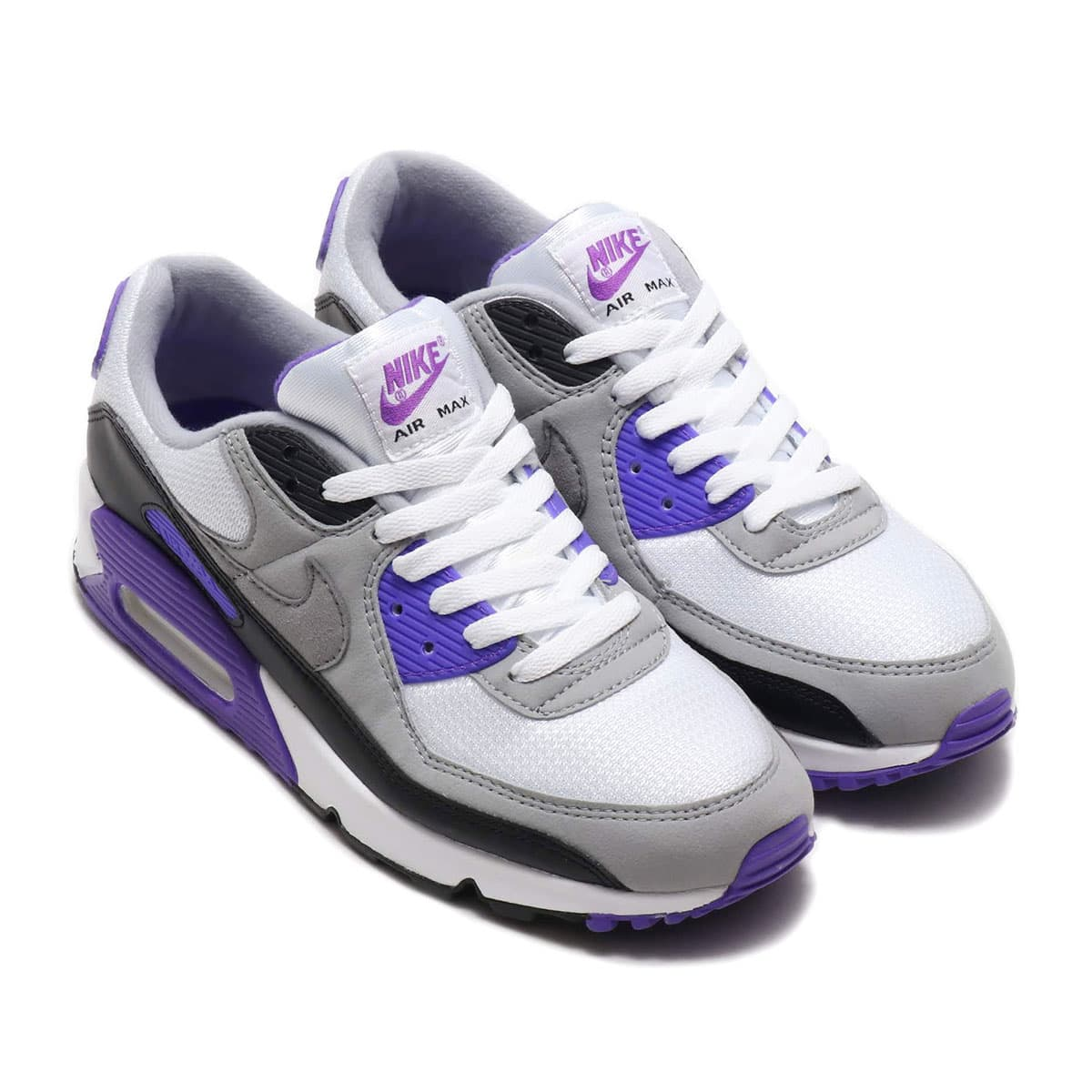 NIKE AIR MAX 90 WHITE/PARTICLE GREY-HYPER GRAPE-BLACK 20SP-S_photo_large
