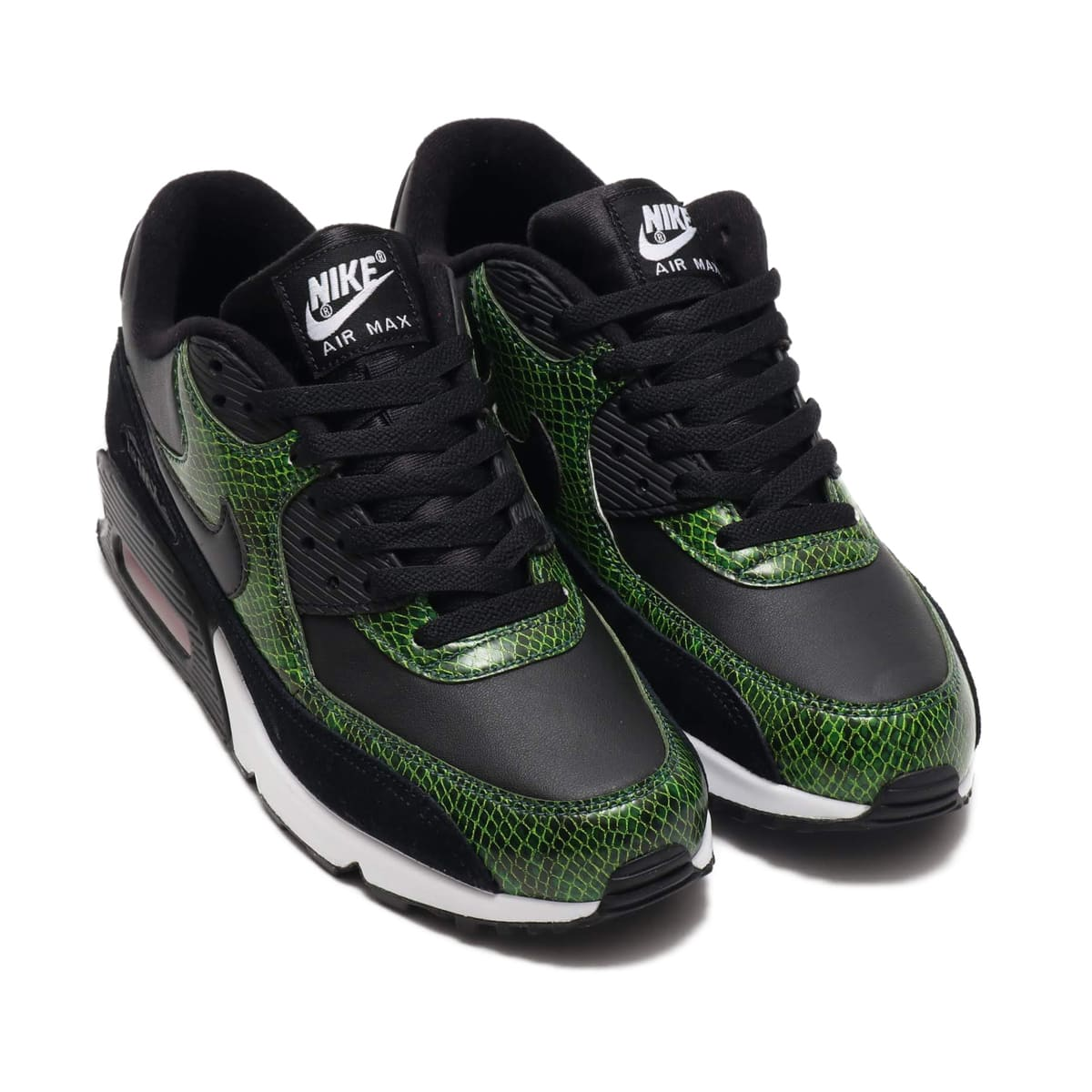 NIKE AIR MAX 90 QS BLACK/BLACK-CYBER-FIR 19SU-S_photo_large