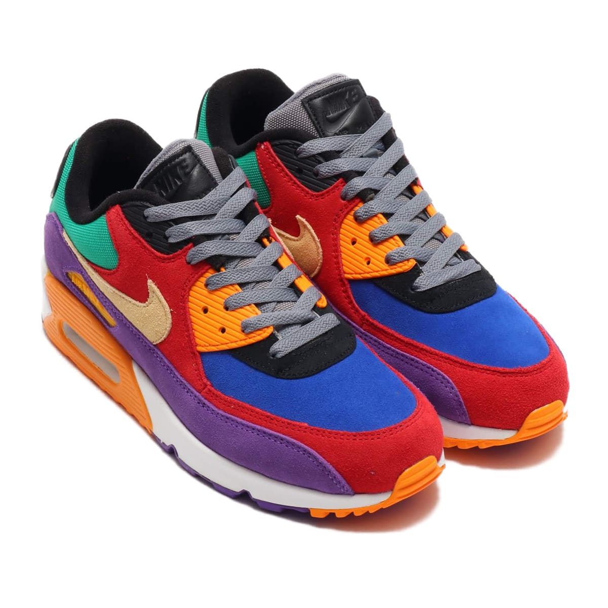 NIKE AIR MAX 90 QS UNIVERSITY RED/PALE VANILLA-HYPER GRAPE 19FA-S_photo_large