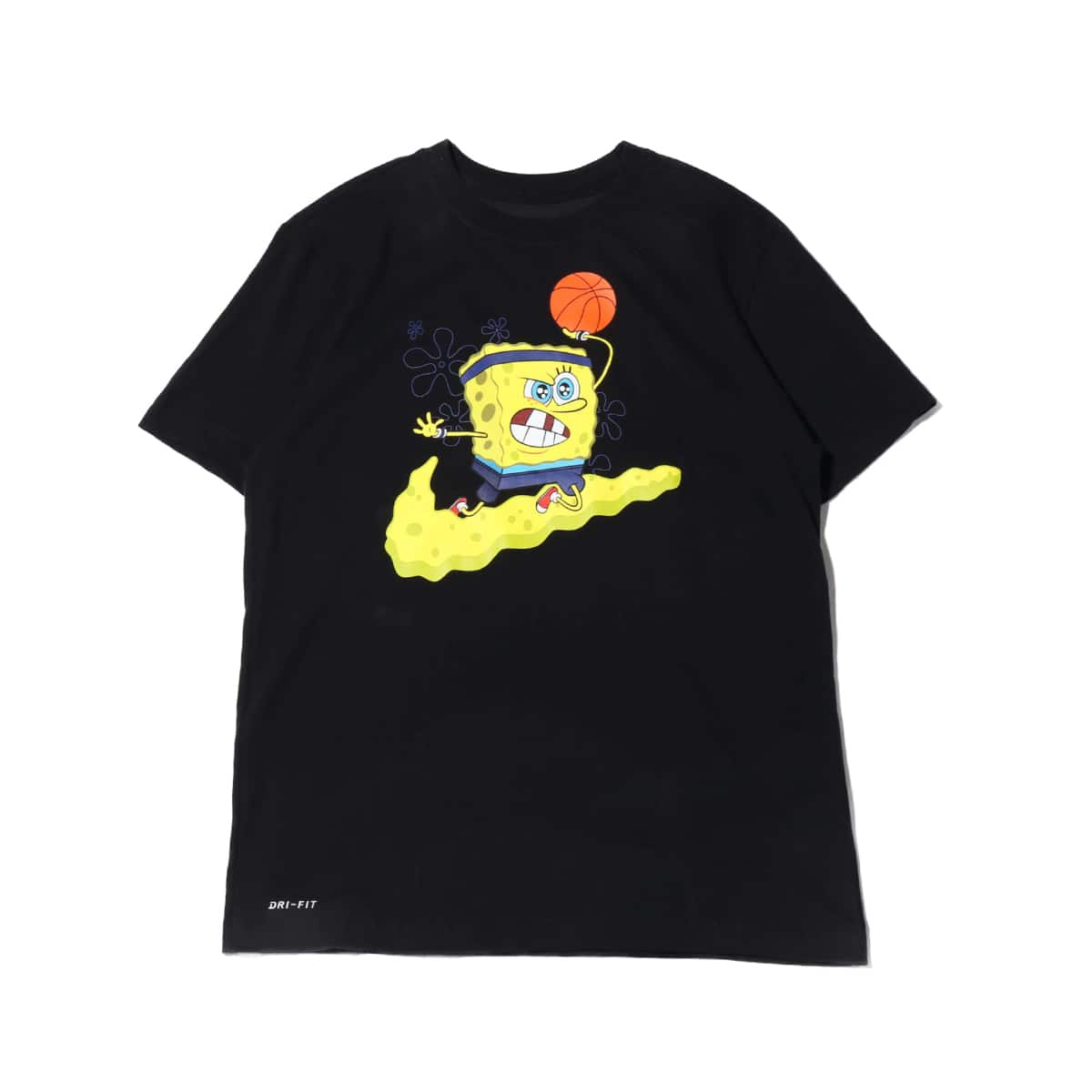 NIKE AS KI M NK DRY TEE SPNGBOB BOB BLACK 19FA-S_photo_large