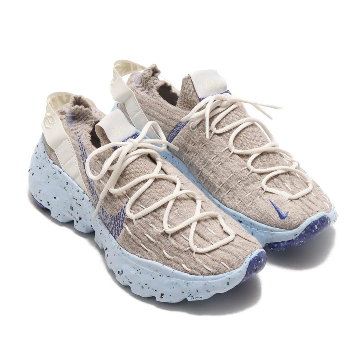 NIKE W SPACE HIPPIE 04 SAIL/ASTRONOMY BLUE-FOSSIL-CHAMBRAY BLUE 20FA-I_photo_large
