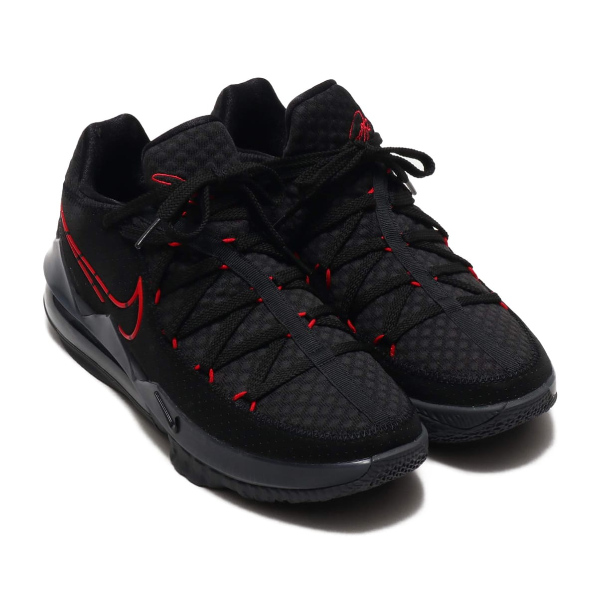 NIKE LEBRON XVII LOW BLACK/UNIVERSITY RED-DARK GREY 20SP-S_photo_large