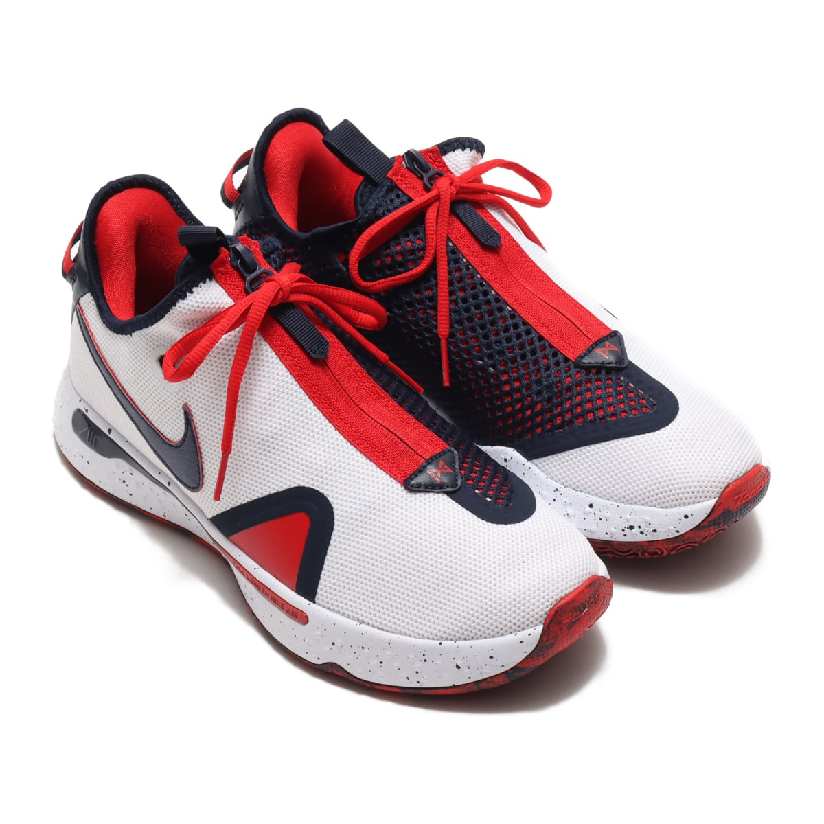 NIKE PG 4 EP WHITE/OBSIDIAN-UNIVERSITY RED 20FA-I_photo_large