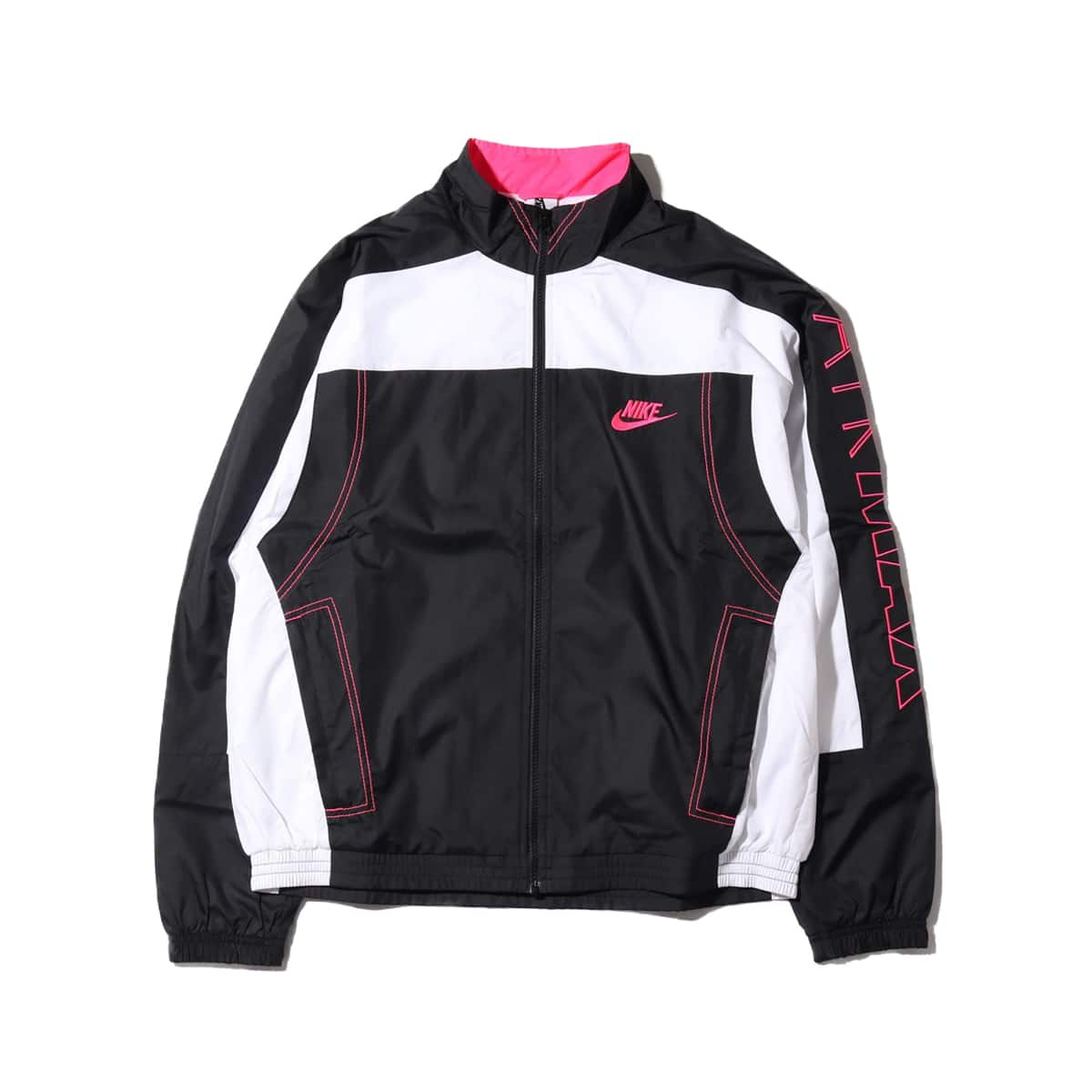 NIKE NRG CU VINTAGE PATCHWORK TRACK JACKET BLACK/WHITE/HYPER PINK 19SU-S_photo_large