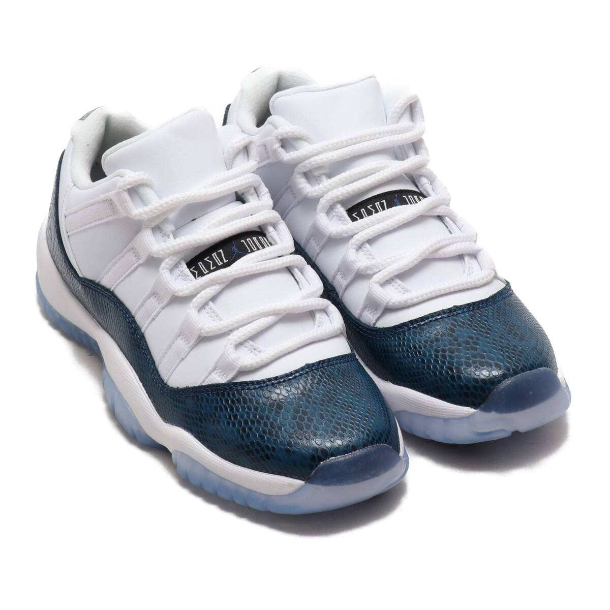 NIKE AIR JORDAN 11 RETRO LOW LE GS WHITE/BLACK-NAVY 19SU-S_photo_large