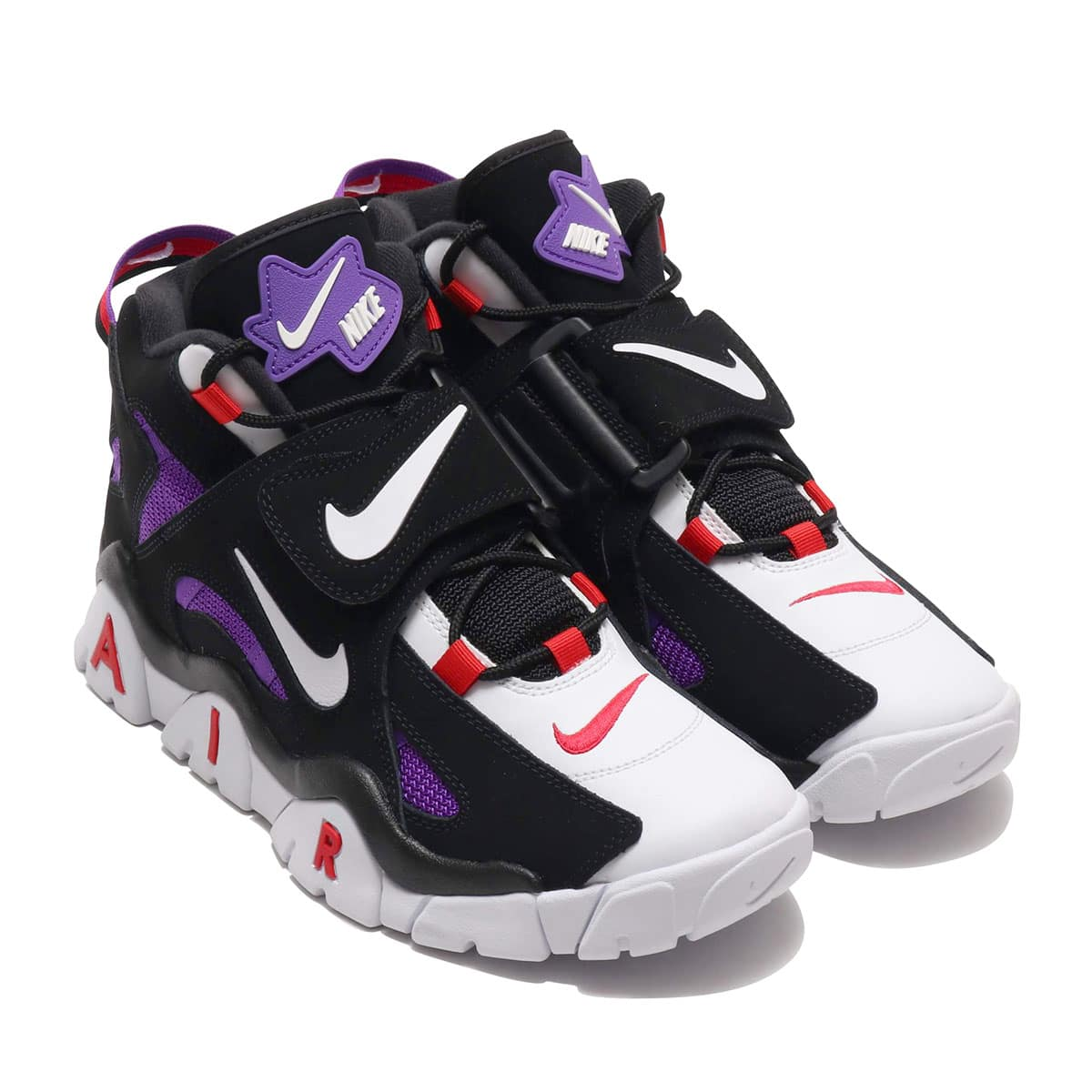 NIKE AIR BARRAGE MID QS BLACK/WHITE-HYPER GRAPE-UNIVERSITY RED 19FA-S_photo_large