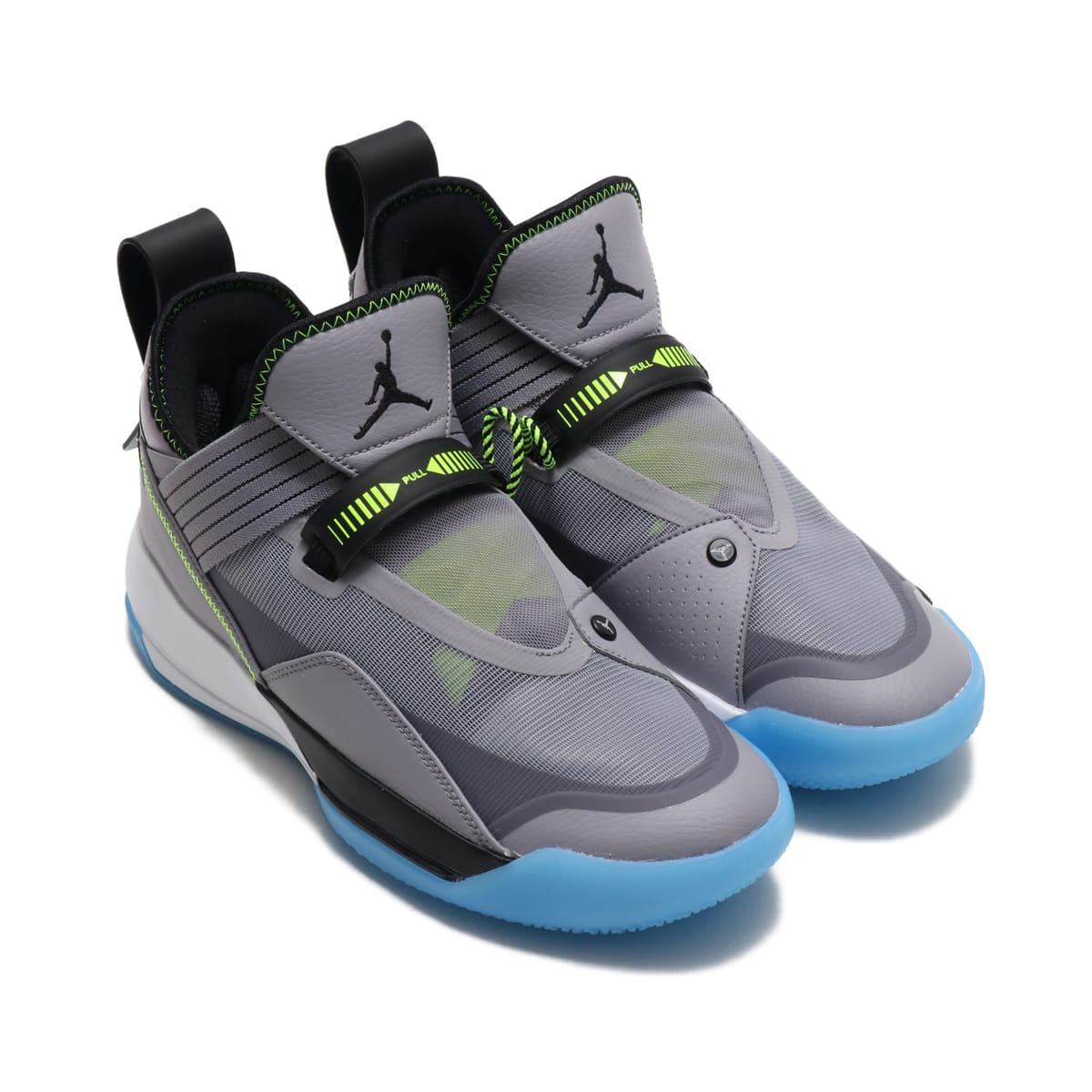 JORDAN BRAND AIR JORDAN XXXIII SE PF CEMENT GREY/BLACK-SAIL-VOLT 19FA-S_photo_large