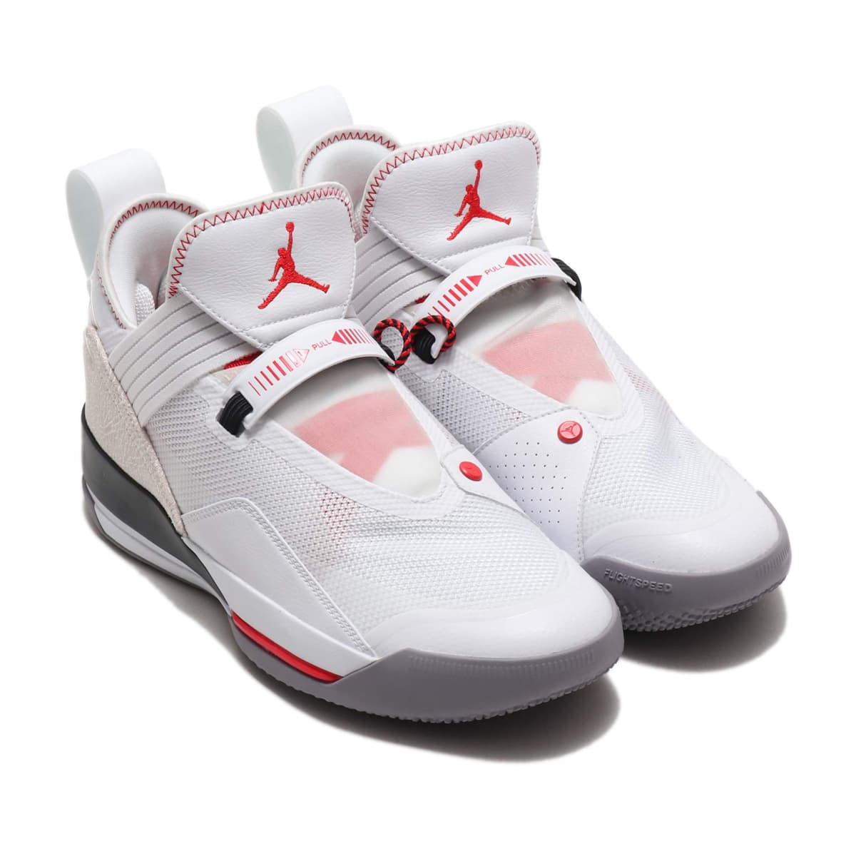 JORDAN BRAND AIR JORDAN XXXIII SE PF WHITE/MTLC GOLD-GYM RED-BLACK 19SU-I_photo_large
