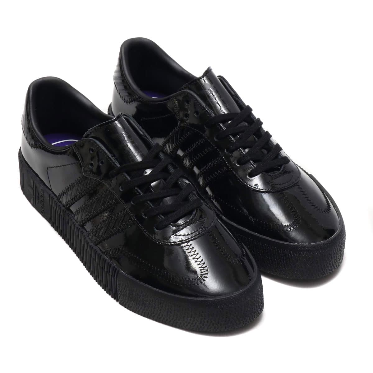 adidas Originals SAMBAROSE W CORE BLACK/CORE BLACK/ACTIVE PURPLE 19SS-I_photo_large