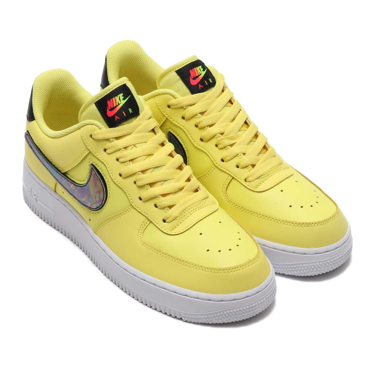 NIKE AIR FORCE 1 '07 LV8 3 YELLOW PULSE/BLACK-WHITE-WHITE 19FA-S_photo_large