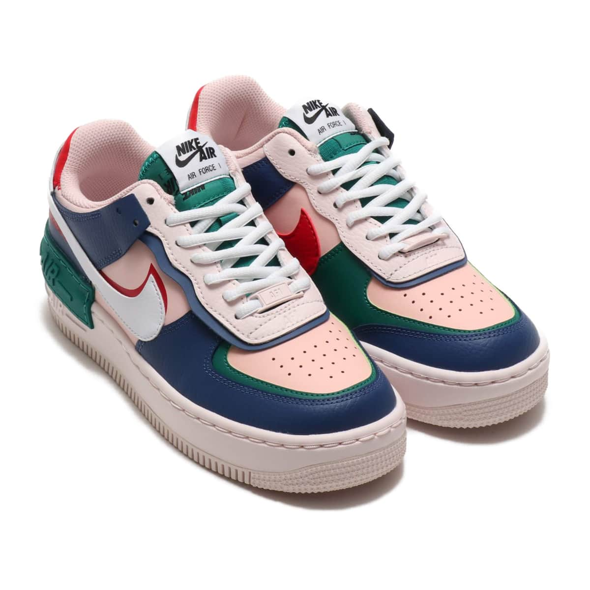 NIKE W AF1 SHADOW MYSTIC NAVY/WHITE-ECHO PINK-GYM RED 19HO-S_photo_large